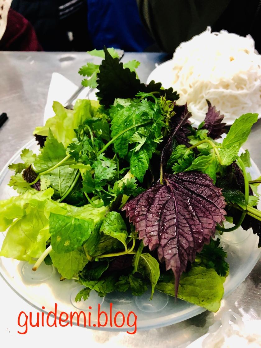 Vegetables - Bun Cha Huong Lien