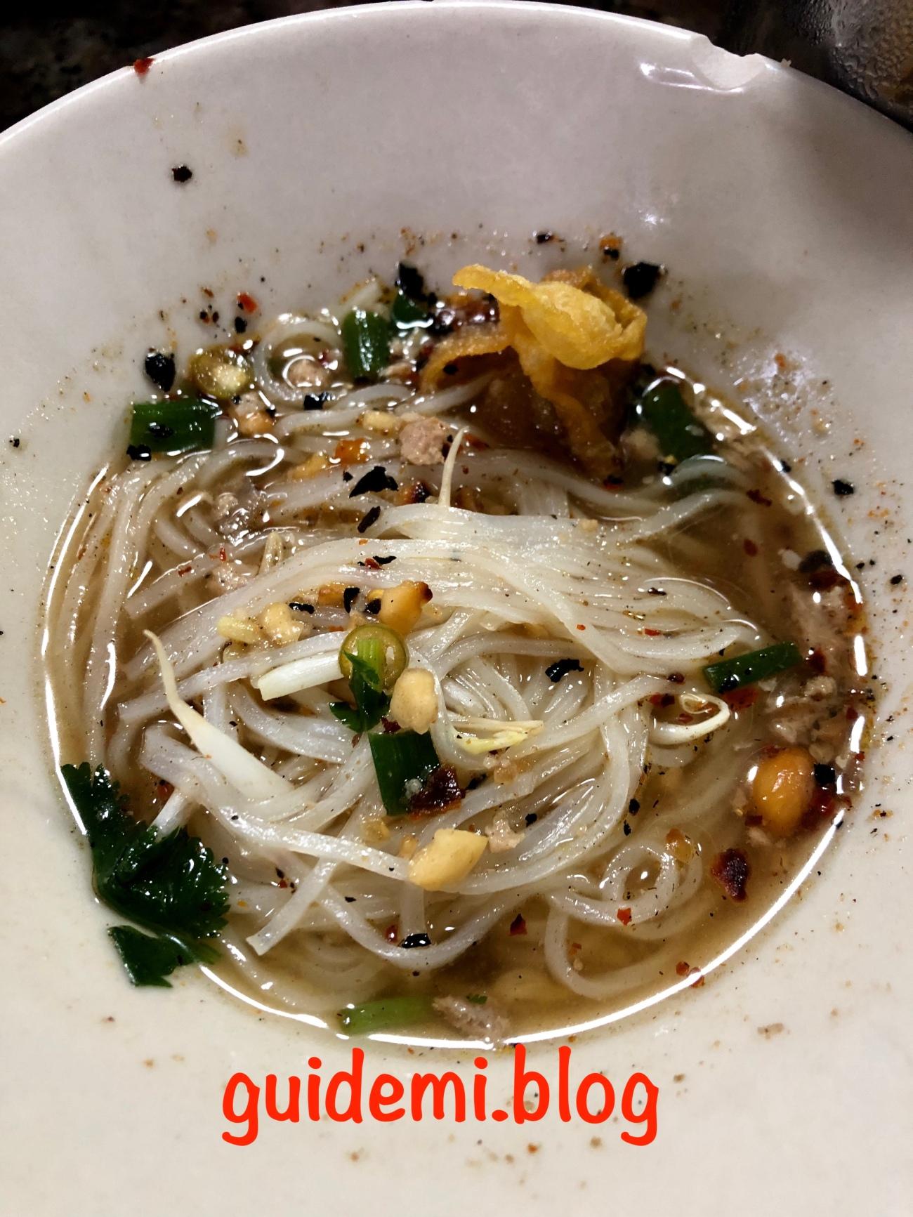 Pa Yak Boat Noodle