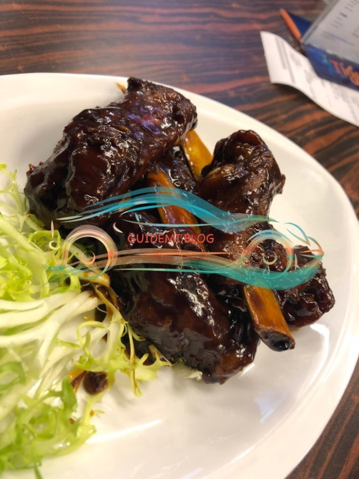 Honey BBQ Pork Rib