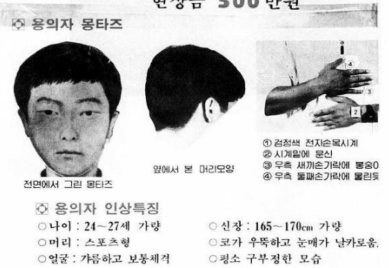 Hwaseong Murder Case Killer