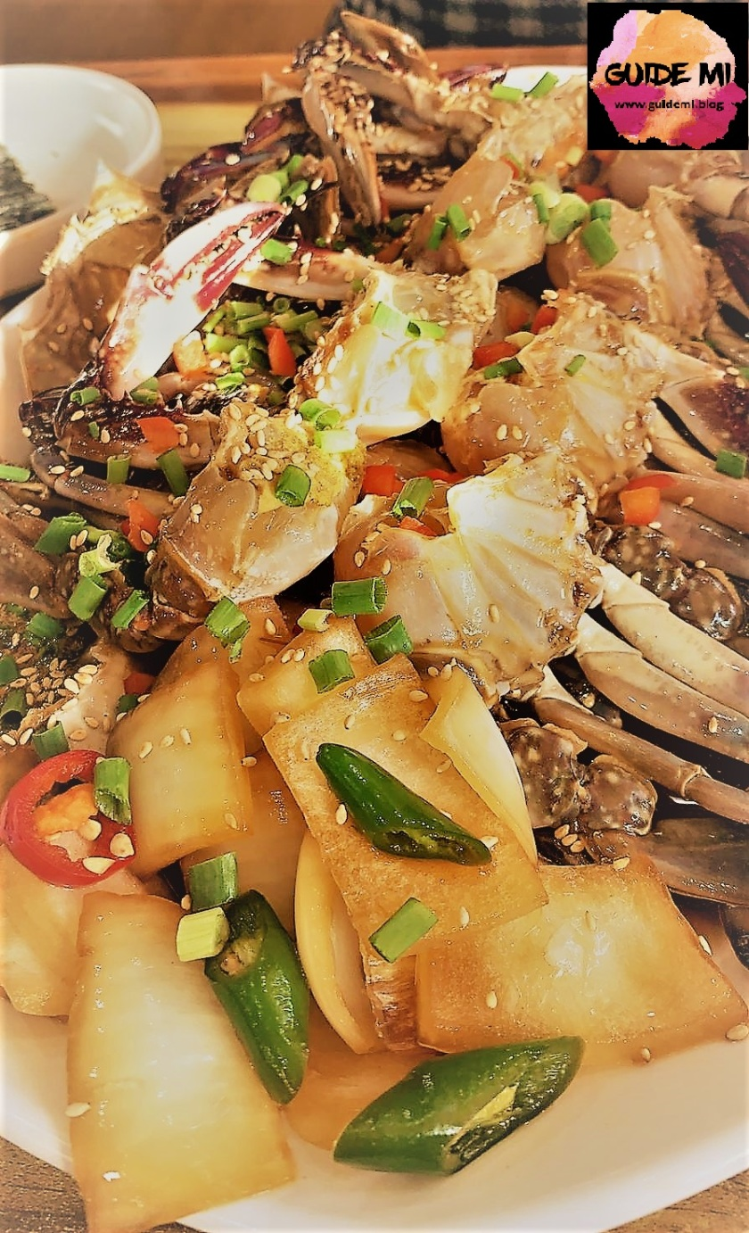Marinated Raw Crab Guidemi